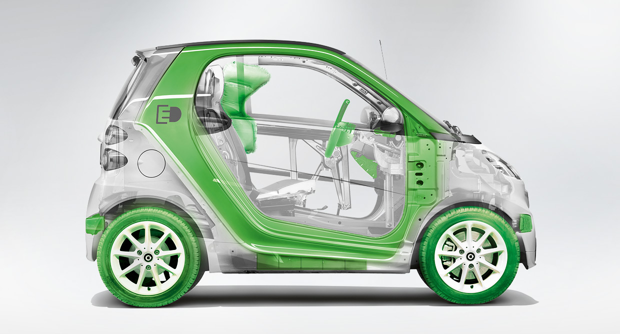Smart ForTwo Electric Drive  The Human Adventures in Space