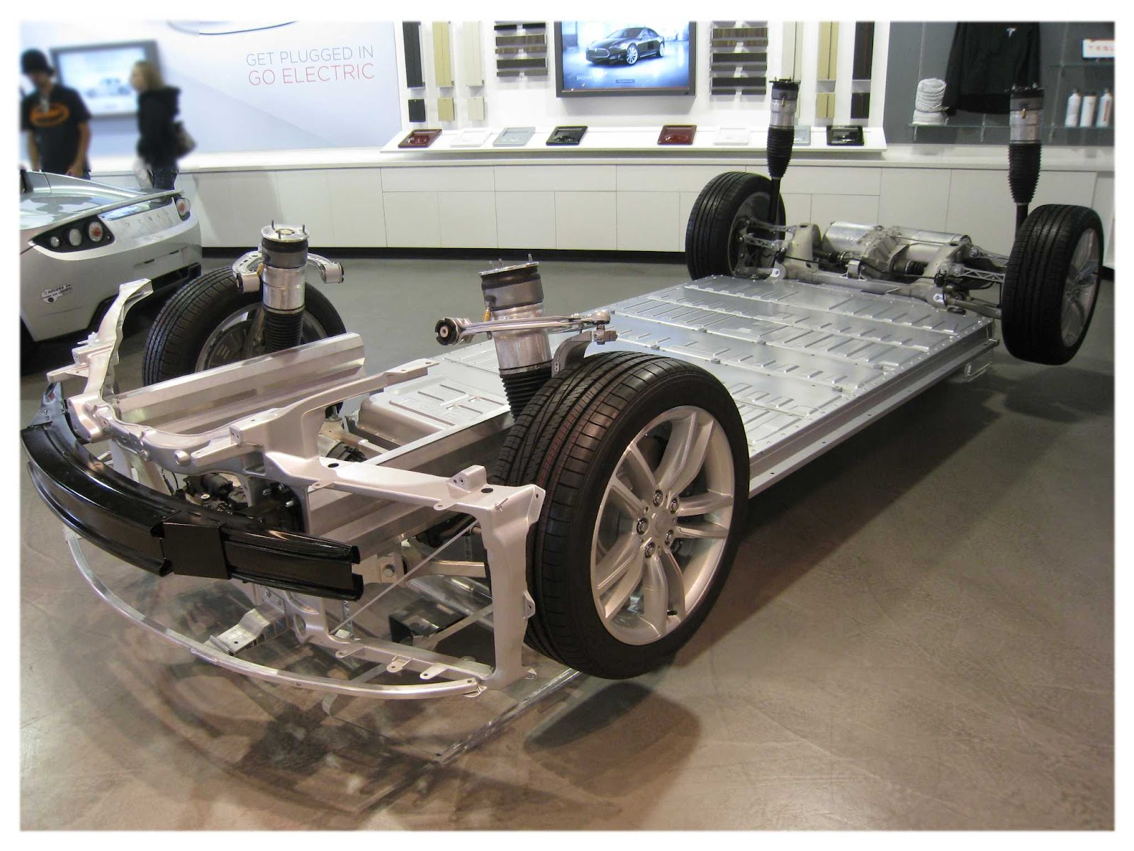 Tesla model s chassis battery the human adventures in for S and s motors