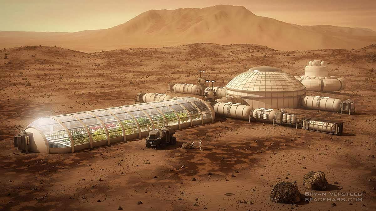SpaceX Mars Colony (page 2) - Pics about space